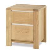 Tủ đầu giường Casa 2 hộc gỗ sồi
