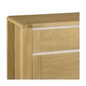 Tủ chén thấp 2 cánh 2 ngăn Casa gỗ sồi
