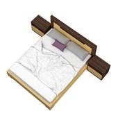 Bộ giường ngủ KagawaBộ giường ngủ Kagawa