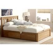Giường ngăn kéo Wimblendon gỗ sồi