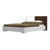Giường ngủ Saga trắng