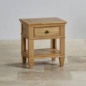 Tủ đầu giường Classic 1 ngăn gỗ sồi
