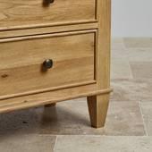 Tủ 5 ngăn kéo Classic gỗ sồi