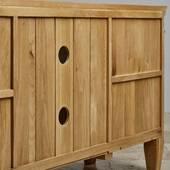 Tủ TV 2 cánh Classic gỗ sồiTủ TV 2 cánh Classic gỗ sồi