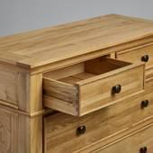 Tủ ngăn kéo 3+2 Classic gỗ sồi