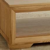Bàn trà Bevel gỗ sồi