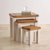 Bộ bàn xếp lồng Kemble gỗ sồi