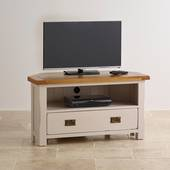Tủ TV góc Kemble gỗ sồi