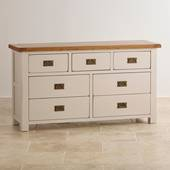 Tủ ngăn kéo 3+4 Kemble gỗ sồi