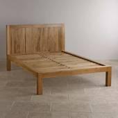 Giường đôi Alto gỗ sồi