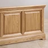 Giường đôi Canterbury gỗ sồi
