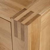 Tủ 5 ngăn kéo đứng Alto gỗ sồi