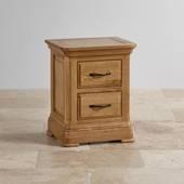 Tủ đầu giường 2 ngăn kéo Canterbury gỗ sồi