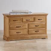 Tủ ngăn kéo 3+4 Canterbury gỗ sồi