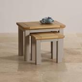 Bộ bàn xếp lồng St.Ives gỗ sồi