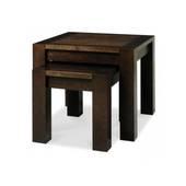 Bộ bàn xếp lồng Lyon gỗ óc chó