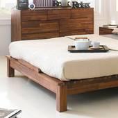 Giường đôi Coco gỗ tràm
