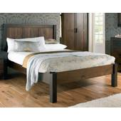 Giường đôi Lyon gỗ óc chó