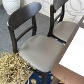 Bộ bàn ghế ăn Cacao màu walnut