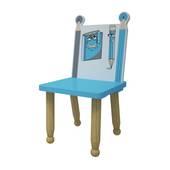 Ghế mầm non mẫu giáo bút chì màu xanh lục