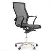 Ghế lưới văn phòng cao cấp Jupiter SB1000 Plus màu đen nghiêng