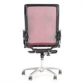 Ghế lưới văn phòng cao cấp Jupiter SB1000 Plus màu đỏ sau