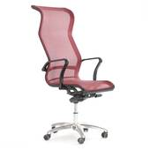 Ghế lưới văn phòng cao cấp Jupiter SB2000 màu đỏ nghiêng