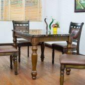 Bộ bàn ăn Columbia 4 ghế Andre