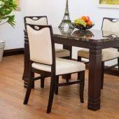 Bộ bàn ăn Buck 4 ghế Ivy