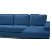 Sofa goc chu L Apollo 3 ghe can canh