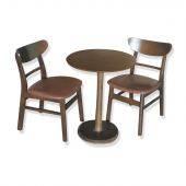 Bộ bàn tròn Como 2-4 ghế Cacao