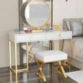 Bộ bàn trang điểm Dona ghế Fulvia