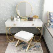 Bộ bàn trang điểm Sofia ghế Fulvia