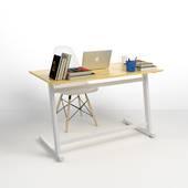 Bộ bàn làm việc Rec-Z trắng