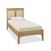 Giường gỗ sồi Hampstead đơn
