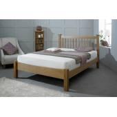 Giường ngủ gỗ sồi Kent đôi
