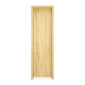Tủ áo Cuba gỗ sồi 2 cánh bên