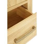 Tủ áo Cuba gỗ sồi 2 cánh hộc