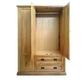 Tủ áo Pano 3 cánh gỗ sồi mở