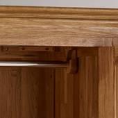 Tủ áo Pano 3 cánh gỗ sồi góc