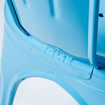 Ghế tựa Tolix lưng cao màu xanh 4