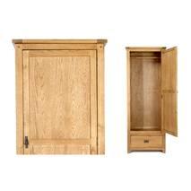 Tủ quần áo Rustic 1 cánh gỗ sồi