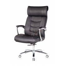 Hình nghiêng Ghế Giám đốc IB016 2 cần chân tay hợp kim nhôm cao cấp màu đen