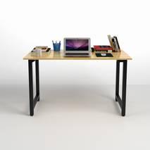 Bộ bàn Rec-T đen và ghế IB517