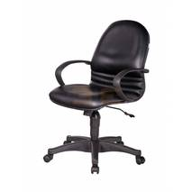 Ghế Trưởng phòng IB326 khung đúc chân ngoại nhập màu đen
