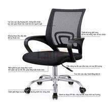 Bộ bàn Rec-F Plus đen và ghế IB517