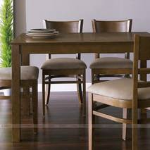 Bộ bàn ăn 4 ghế Ulsan màu antique 2