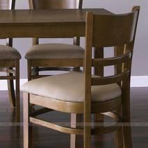 Bộ bàn ăn 4 ghế Ulsan màu antique 3