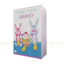 Tủ quần áo 3 cánh hình Bunny 1m2