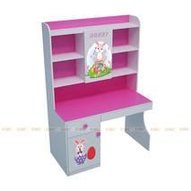 Bộ bàn học có giá sách hình Bunny 1m2